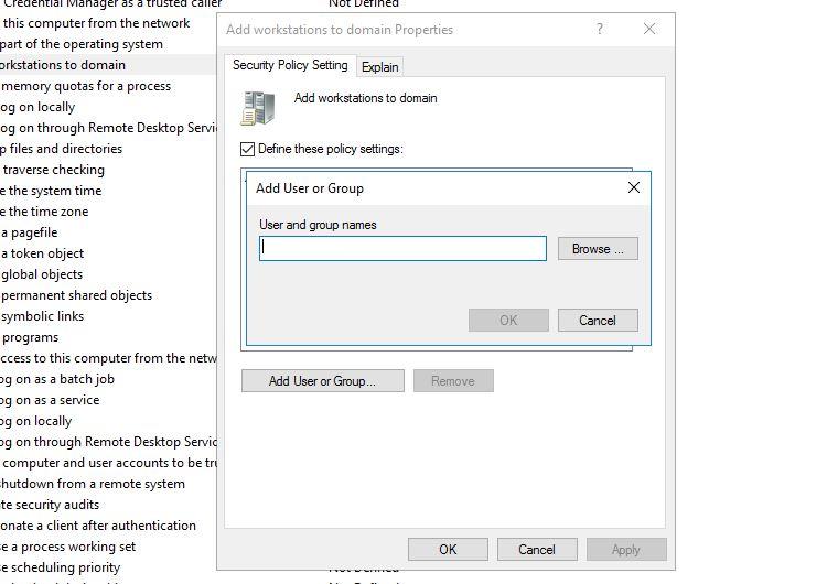 Bilgisayarı Domain Ortamına Ekleme Limiti 2