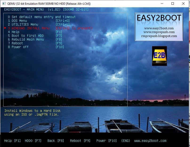 Easy 2 Boot ile Önyüklemeli USB Hazırlama 16