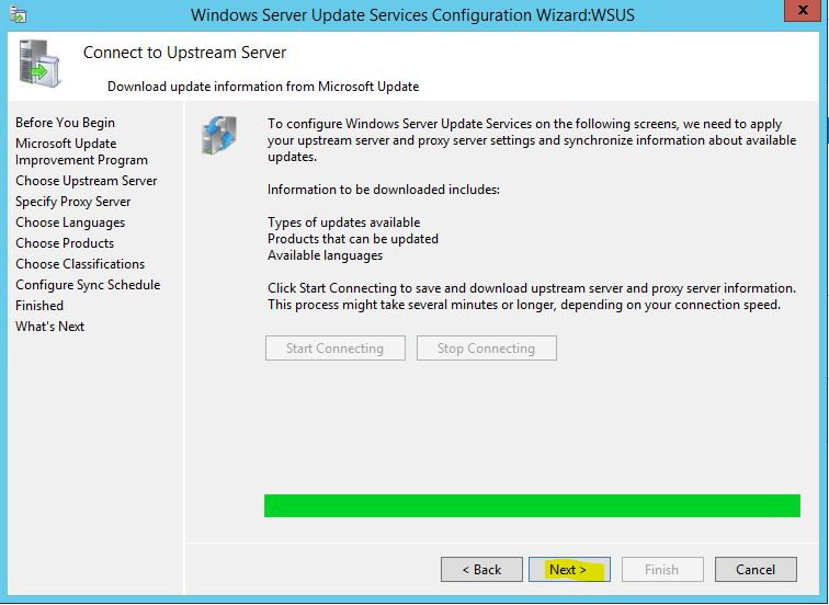Windows Server 2012 R2 WSUS Kurulumu 28