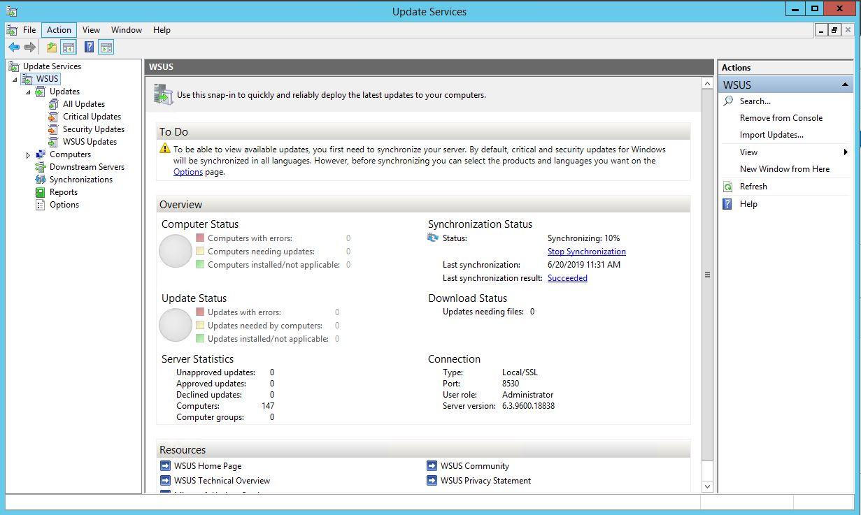 Windows Server 2012 R2 WSUS Kurulumu 35
