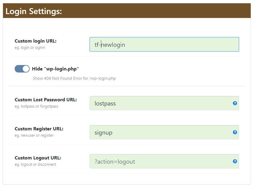 Wordpress wp-admin Adresini Değiştirmek 5
