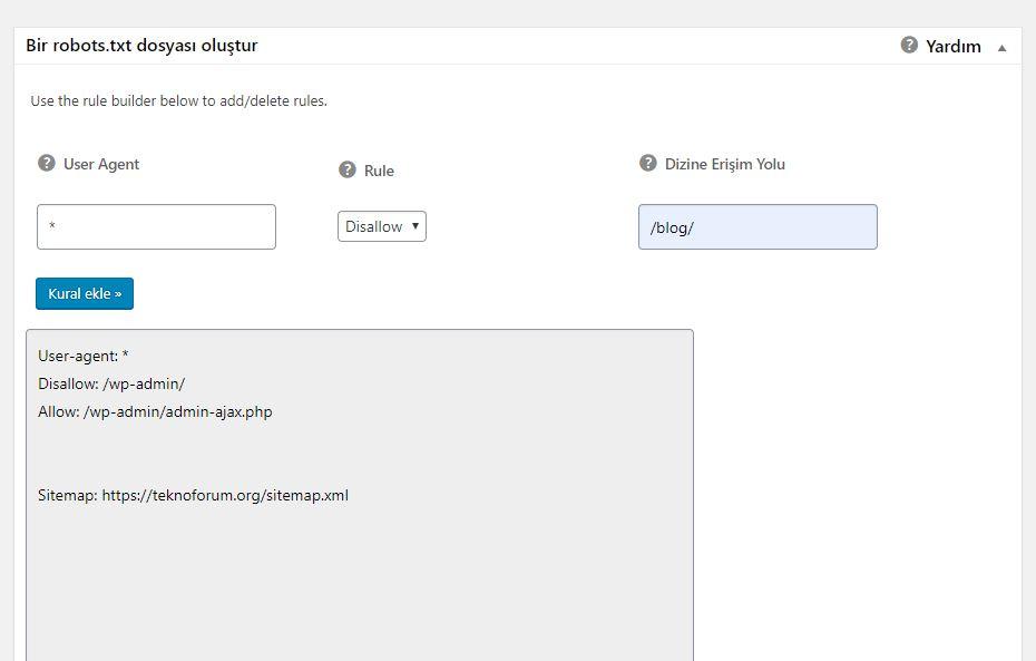 Wordpress Google Indexlerini Silmek 3