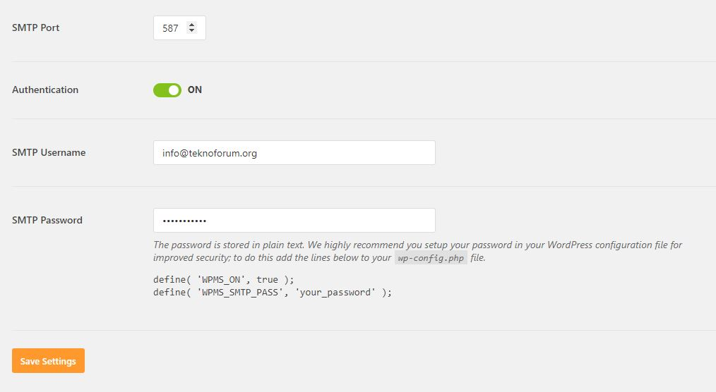 Wordpress Mail Smtp Eklentisi 5