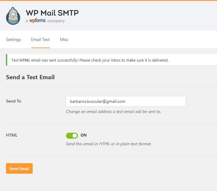 Wordpress Mail Smtp Eklentisi 6
