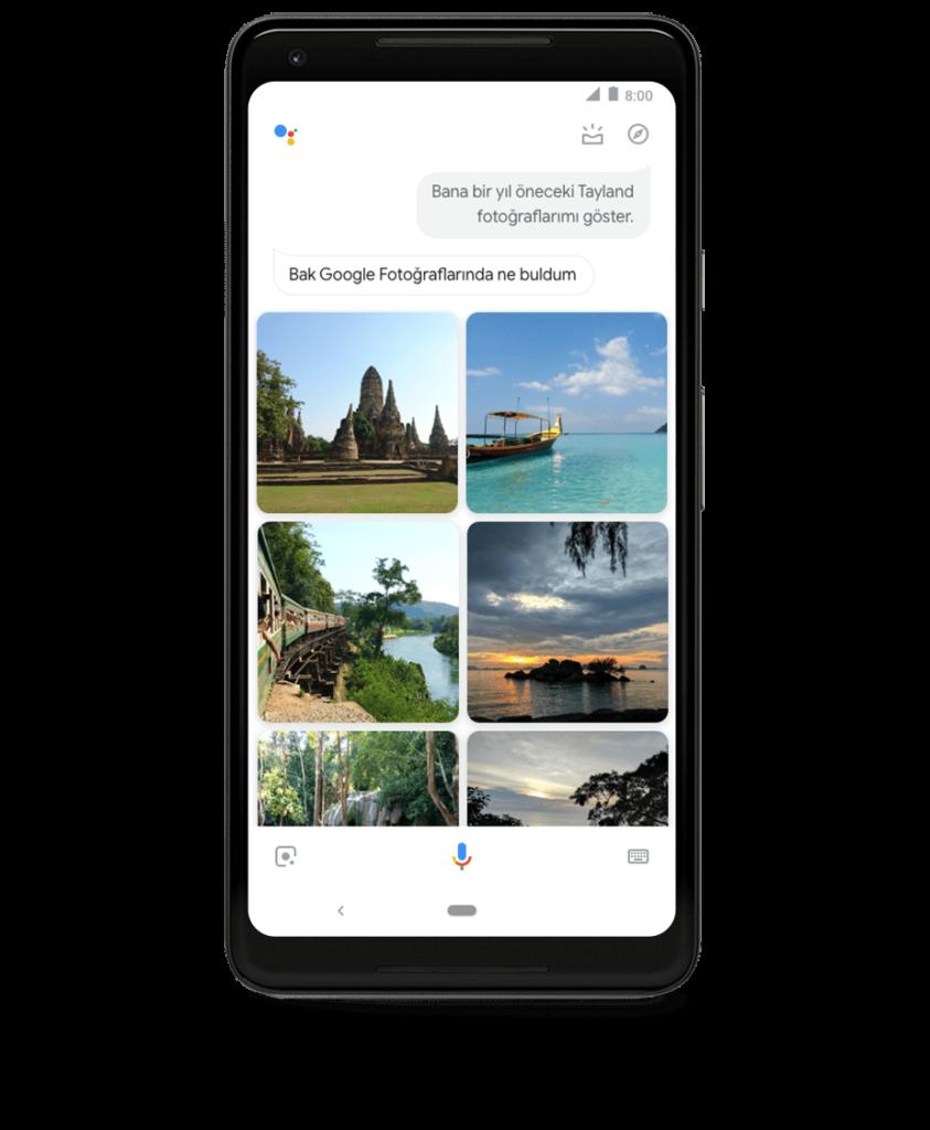Google Asistan Android ve iPhone da