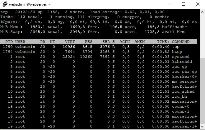 Pardus 19.0 Screen Komutu ile Birden Fazla SSH Oturumu Açmak
