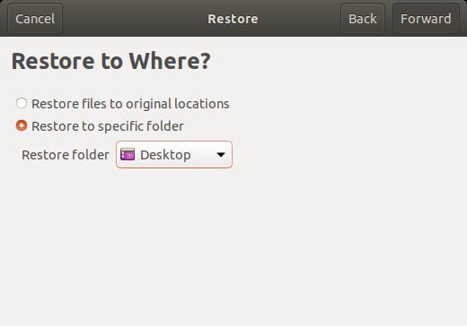 Ubuntu 18.04 Otomatik Yedekleme