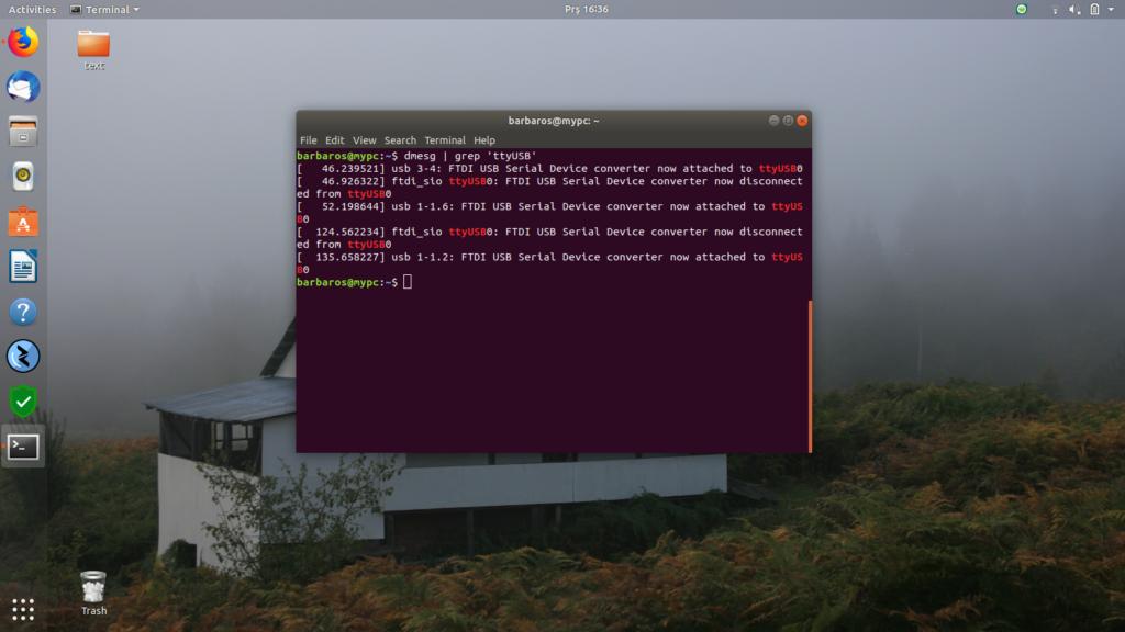 Ubuntu Digitus USB To RS232 ile Switch Bağlantısı