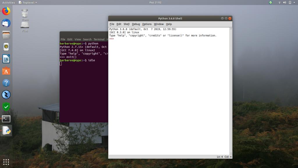 Ubuntu 18.04 Python IDLE kurulumu