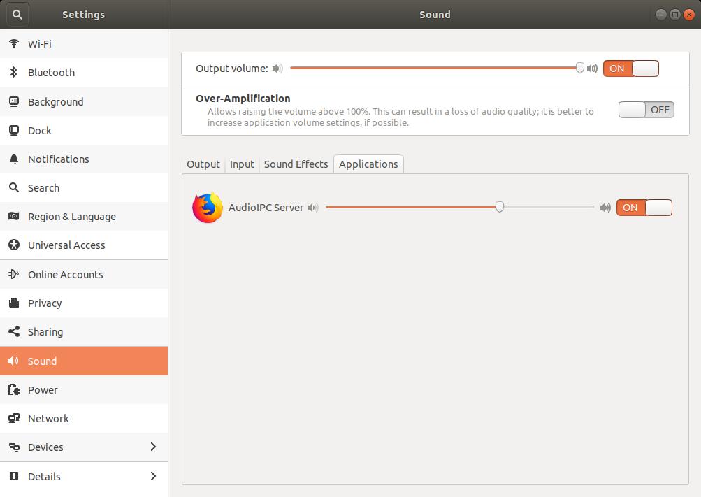 Ubuntu 18.04 Ses Ayarı