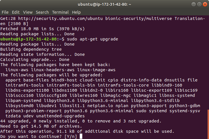 Amazon Web Services Ubuntu Server Kurulumu