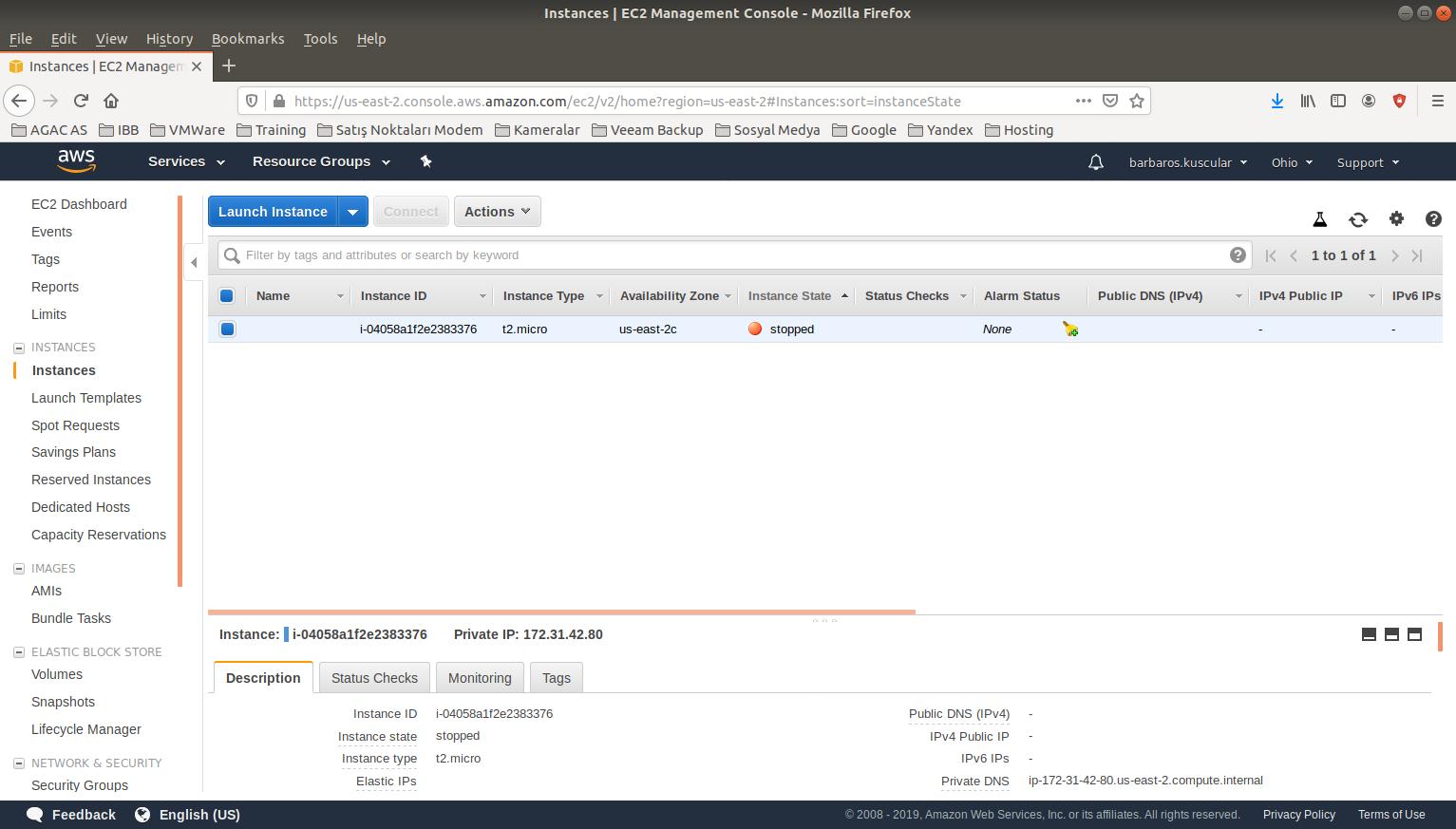 Amazon Web Services Ubuntu Server Kurulumu