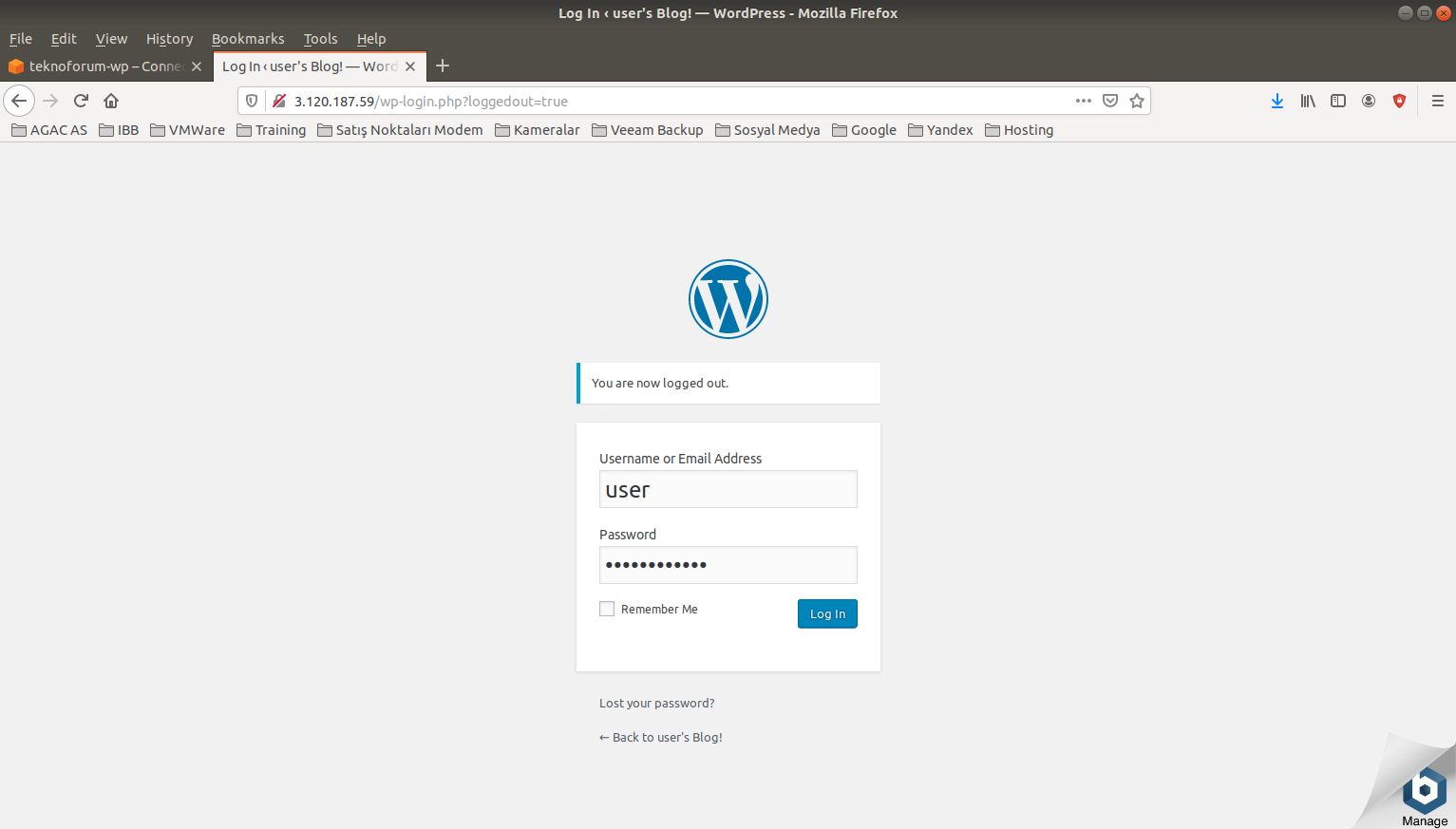 Amazon Web Services Lightsail WordPress Kurulumu