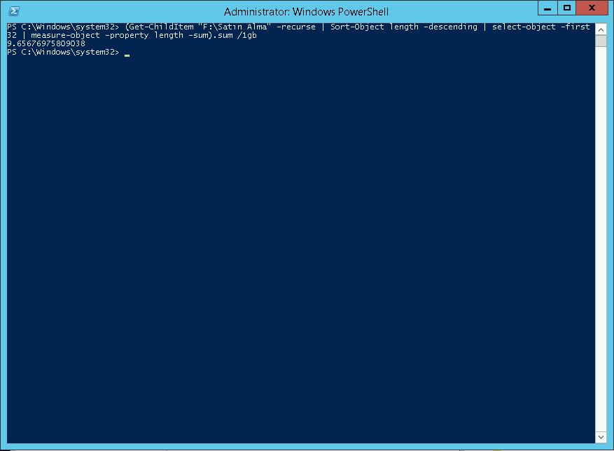 File Server DFSR Private Klasör Boyutu Çok Yüksek