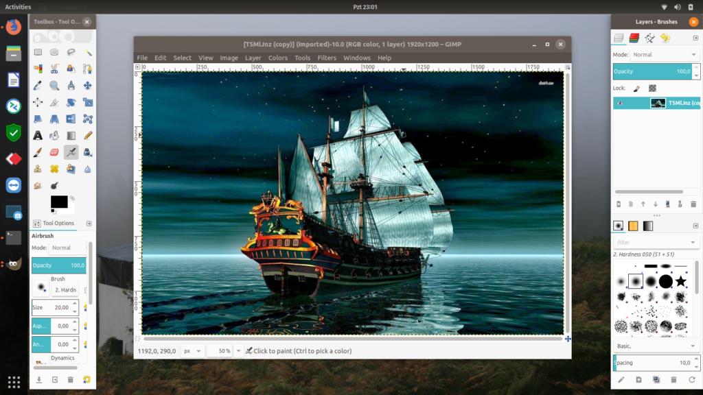 Ubuntu 18.04 LTS GIMP Kurulumu