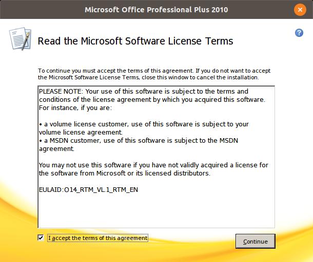 Ubuntu 18.04 Microsoft Office 2010 Kurulumu