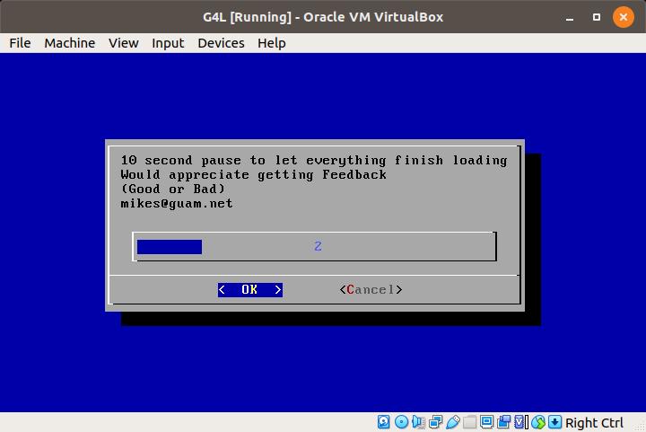 G4L Ghost 4 Linux - Disk Klonlama
