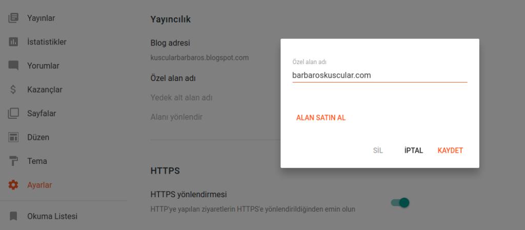 Ücretsiz Blog Açma