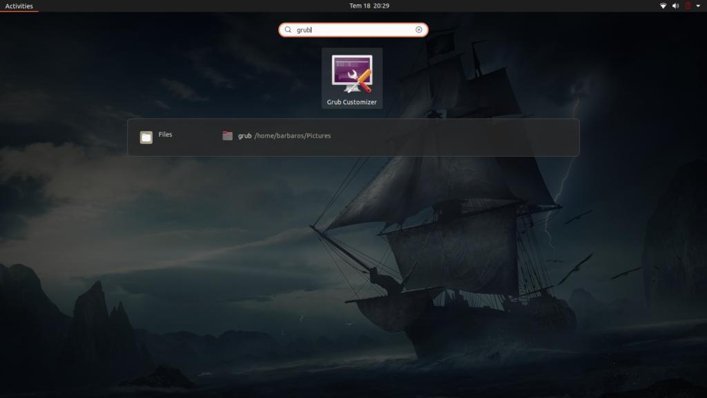 Grub Customizer Kurulumu - Ubuntu 20.04 LTS