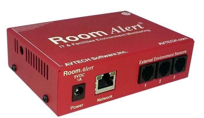 AVTech Room Alert 12E Firmware Update