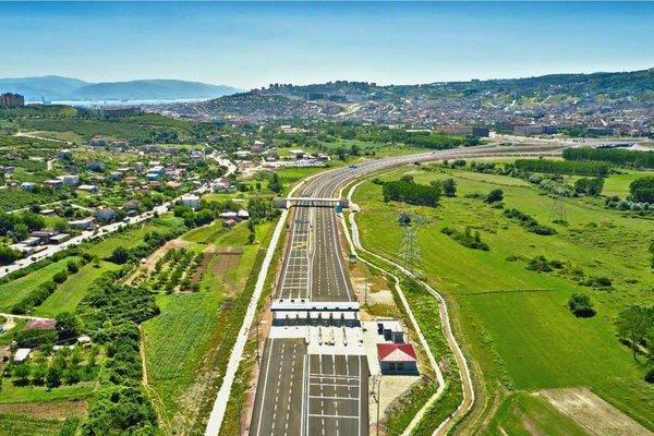 Kuzey Marmara Otoyolu'nun Gebze-İzmit etabı açıldı
