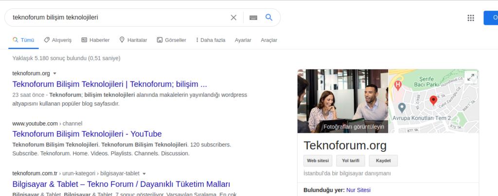 Firma Bilgileriniz / Web Siteniz Google'dan Silinecek