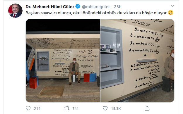 Dr. Mehmet Hilmi Güler Ordu'ya Özel Otobüs Durağı