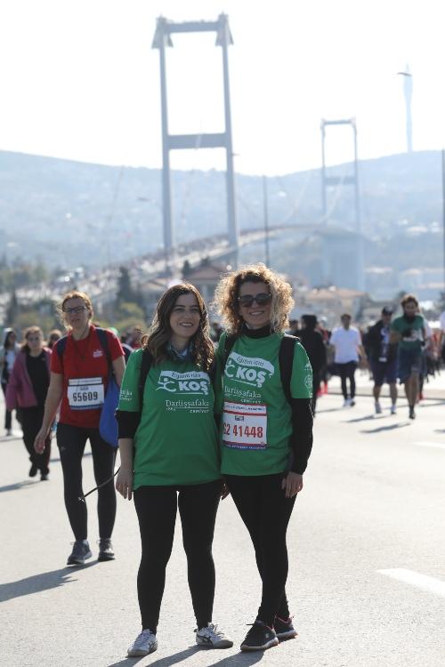 42. İstanbul Sanal Maratonu'nda eğitim için koşuyoruz