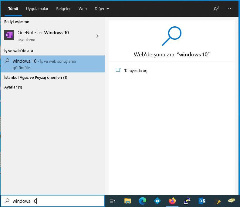 Microsoft Edge Aramasına Yönlendiriyor