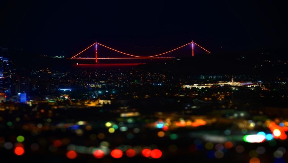 Google Earth Timelapse Üzerinde Yavuz Sultan Selim Köprüsü