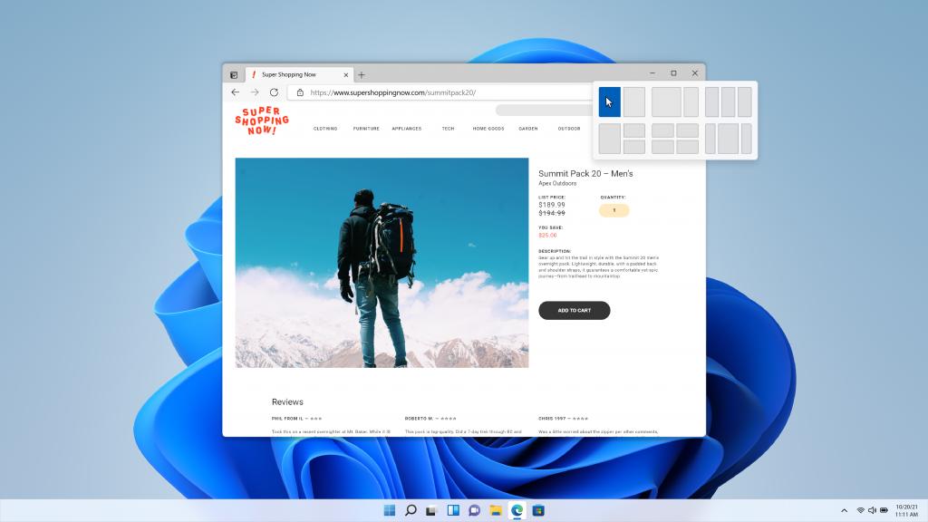 windows 11 web tarayıcı