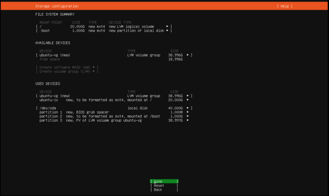 Ubuntu Server Kurulumu 20.04.3 LTS