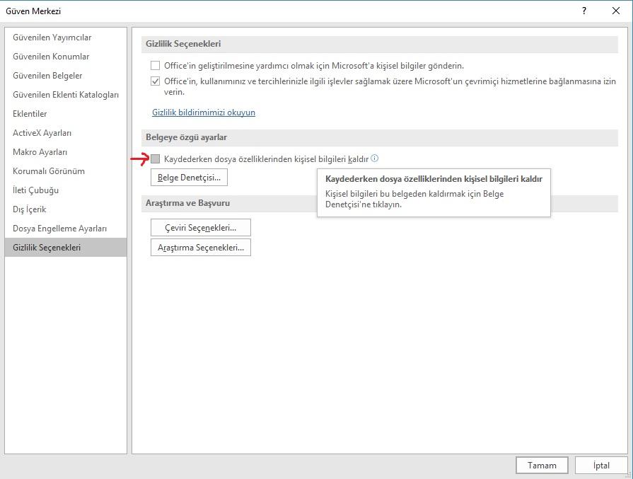 Excel Değişiklik Geçmişi İzleme ve Paylaşılan Çalışma Kitabı Koruması