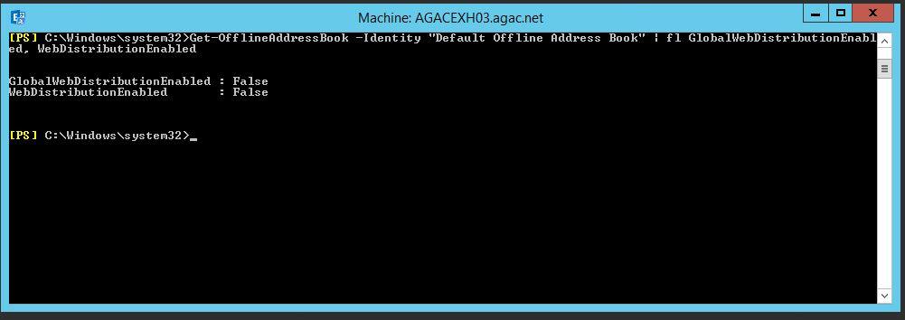 Exchange server adres defteri indirme hatasi 0x8004010F - Çözüldü