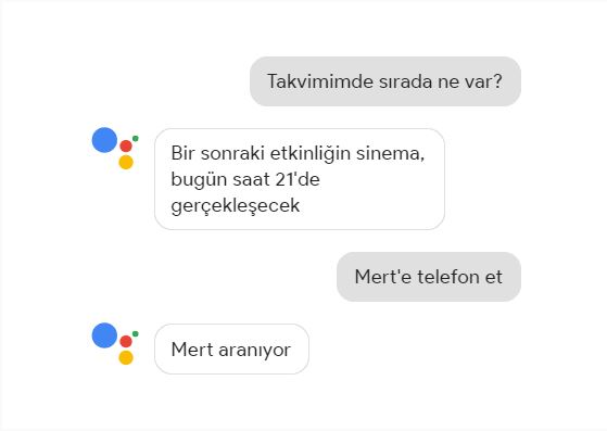 Google Asistan Android ve iPhone da