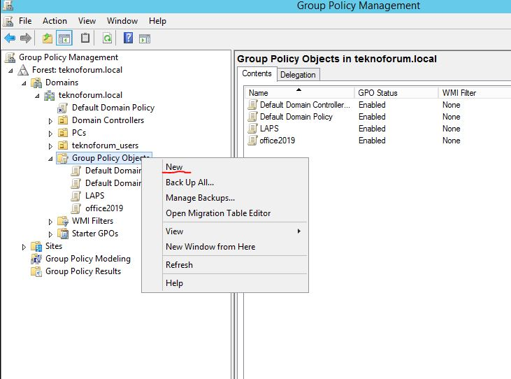 Group policy ile windows logon mesajı oluşturma