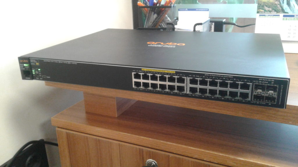 HP Switch Konsol Bağlantısı - RS232 to USB