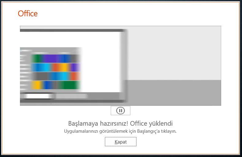 Office 2019 Kurulumu - Office 2019 Deployment Tool
