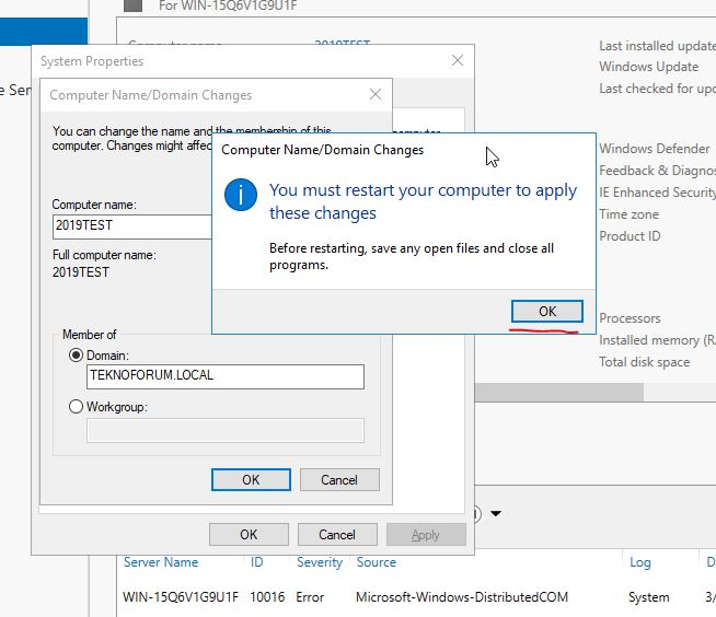 Windows Server 2019 Kurulumu ve Honolulu Project
